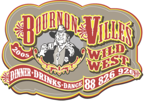 Bounrnonvilles Wild West Logo